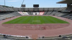 Barcelona-Wochenende-Olympiastadion