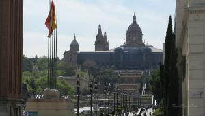 Barcelona-Wochenende-Placa-Espana