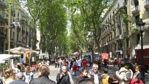 Barcelona-Wochenende-Rambla