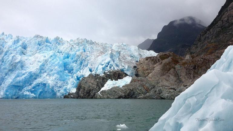 Laguna San Rafael Gletscher und Eis