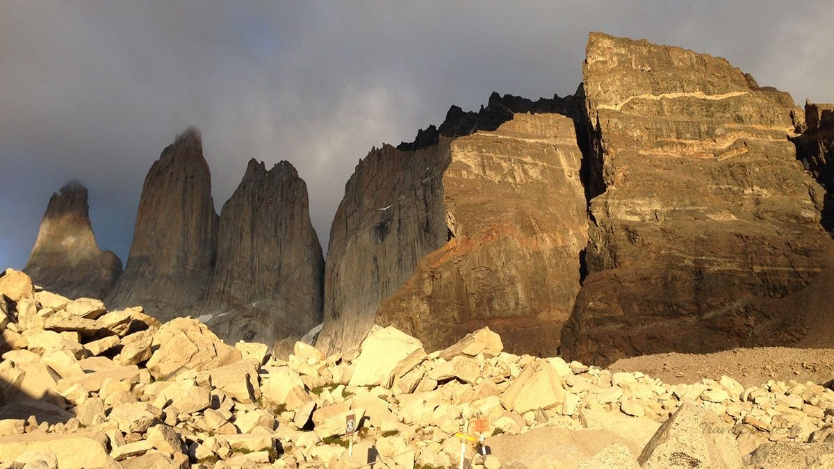 Nationalpark Torre Del Paine Torres morgens