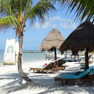 Backpacking-Mexiko-Isla-Holbox-Strand