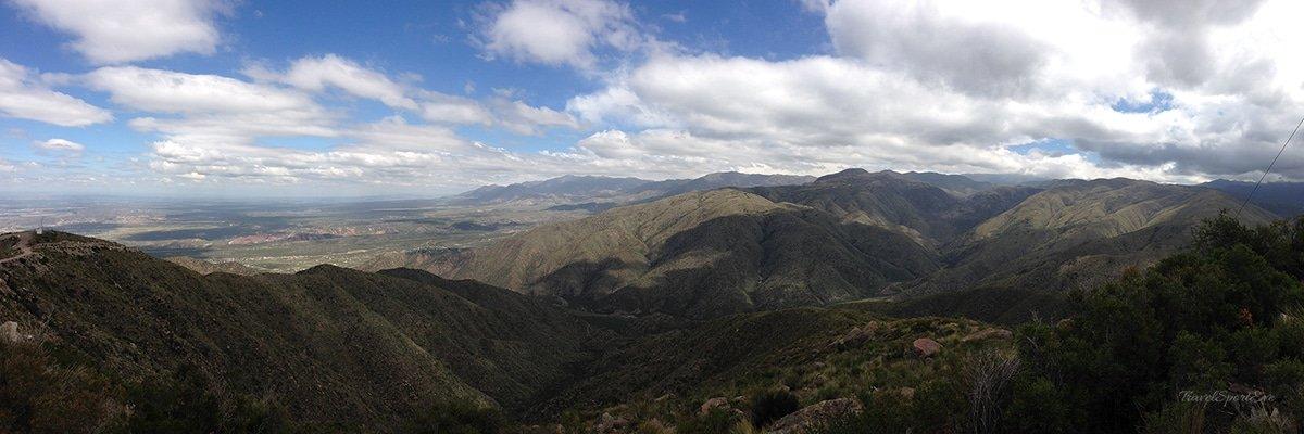 Mendoza Argentinien Berge