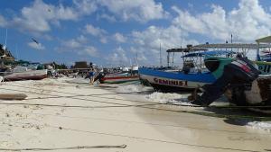 cancun mexiko isla mujeres boote