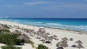 cancun mexiko playa delfines