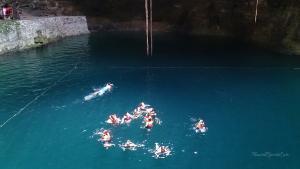 chichen itza cenote hubiku baden