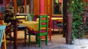Akumal-Turtle-Bay-Cafe-Bakery-Tisch