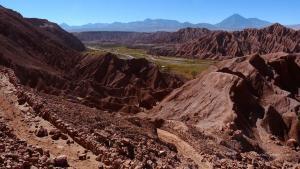 atacama-wüste radfahren landschaft
