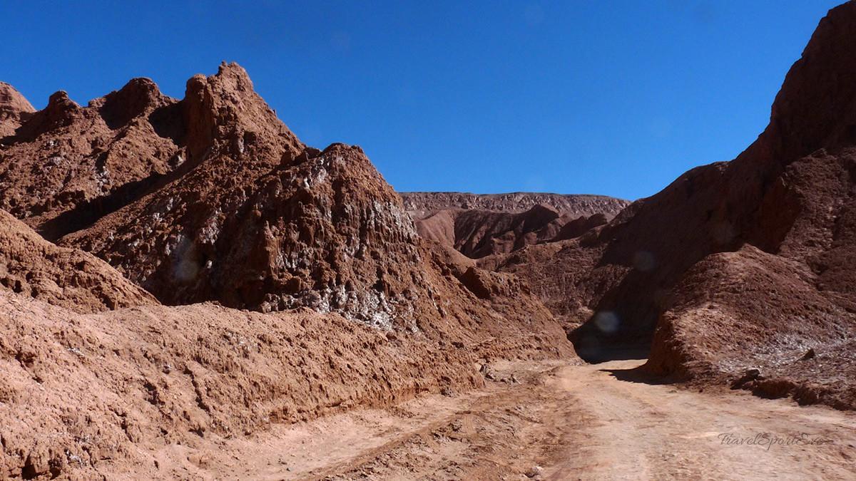 atacama-wüste radfahren weg