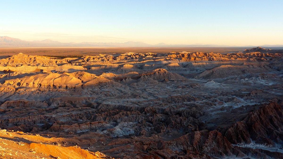 atacama-wüste valle de la luna landschaft