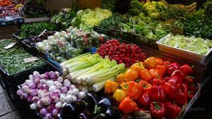 bologna italien markt gemüse