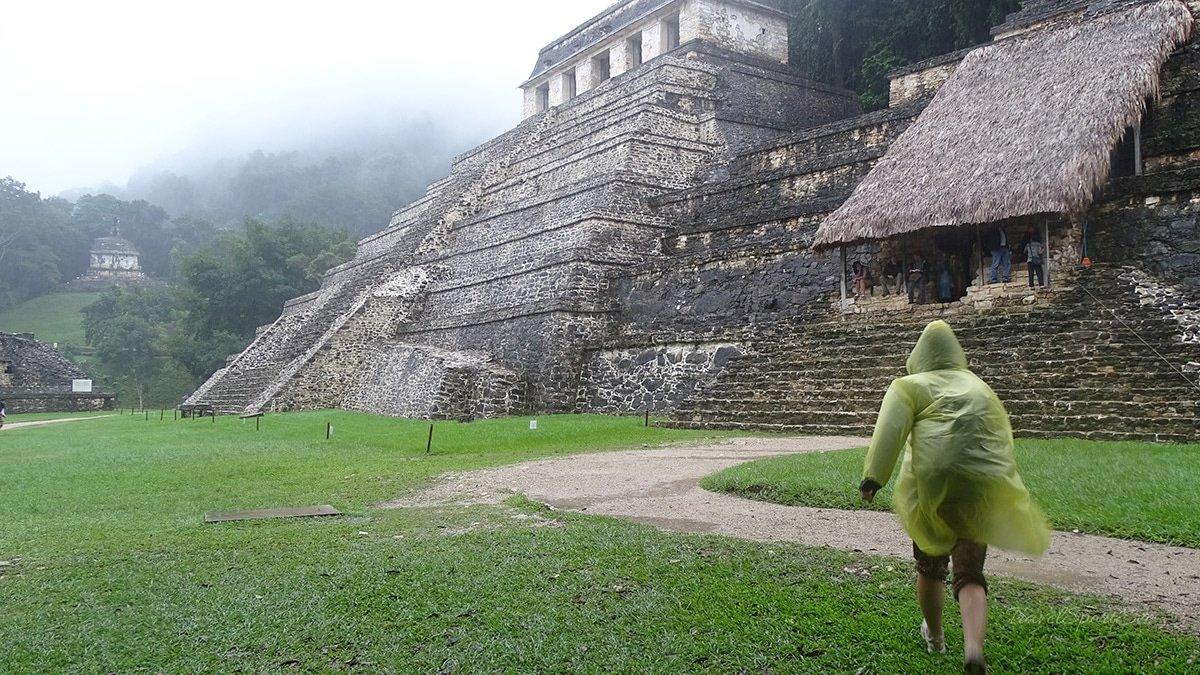 Mexiko-Rundreise-Regen-Palenque