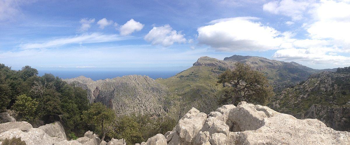 Radfahren auf Mallorca Aussicht
