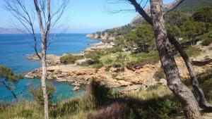 Radfahren auf Mallorca Küste