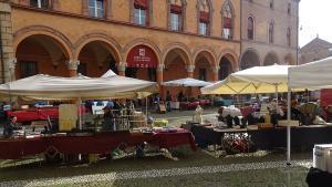 Bologna Italien Markt
