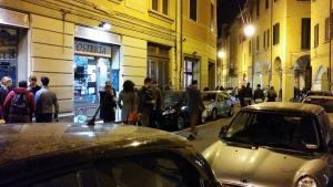 Bologna-Italien-Nachtleben