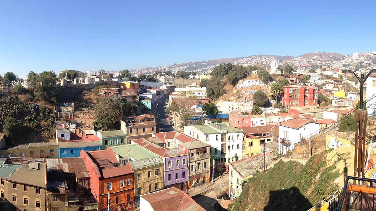 Chile Reise Valparaiso