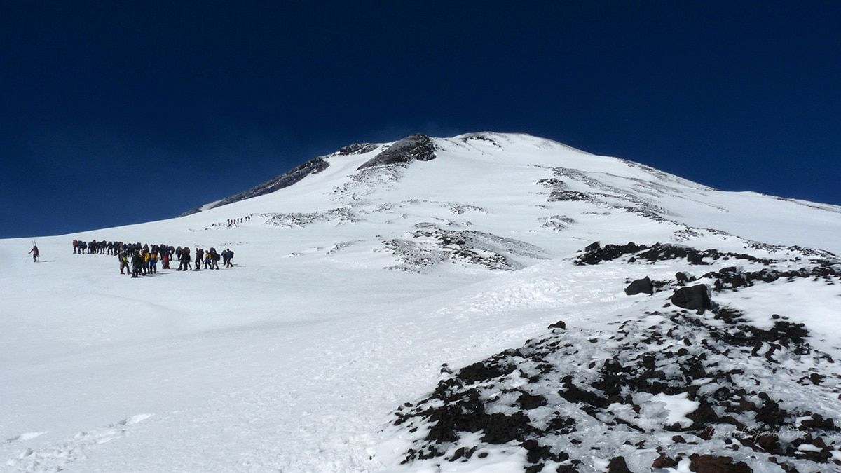 Chile Reise Vulkan Villarrica Pucon