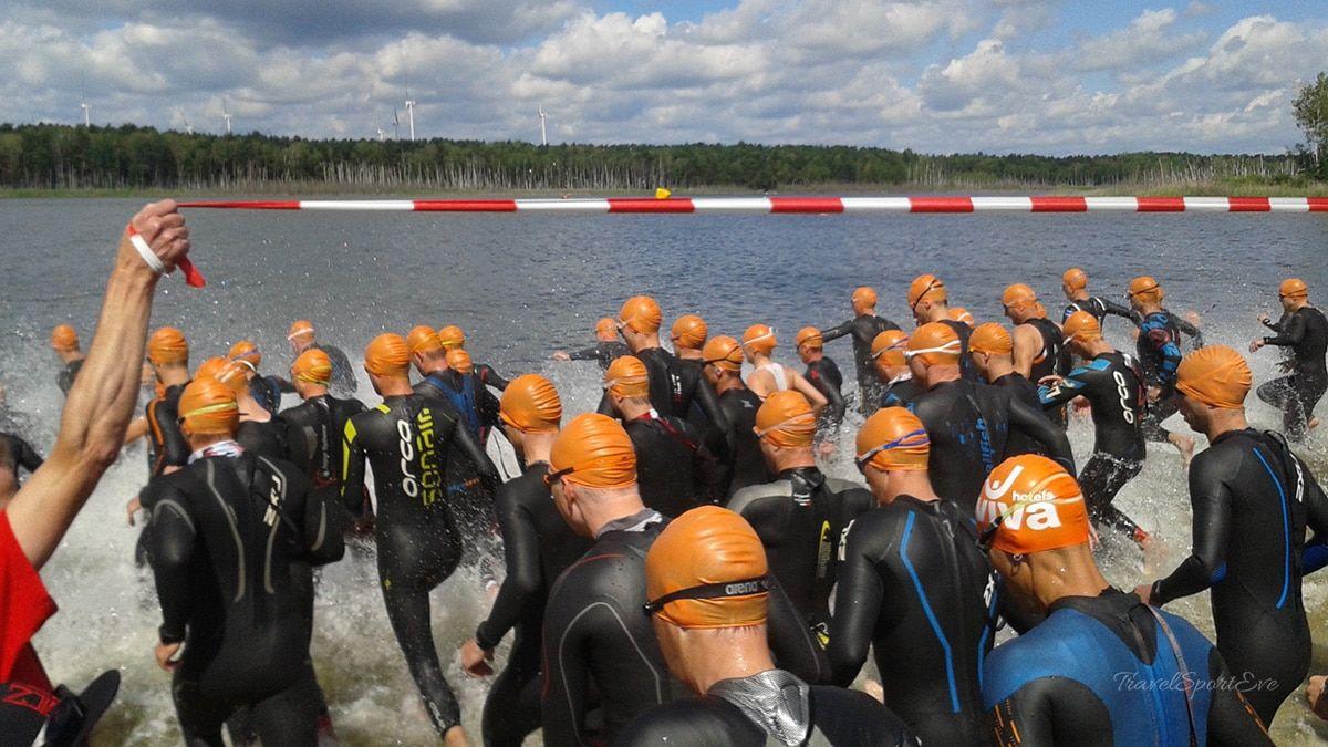 Spreewald Triathlon Start