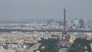 Paris-von-oben-Montparnasse-Eiffelturm