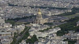 Paris von oben Montparnasse Invalidendom