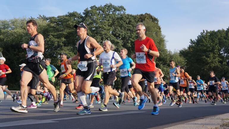 Berlin Marathon 2016 Läufer