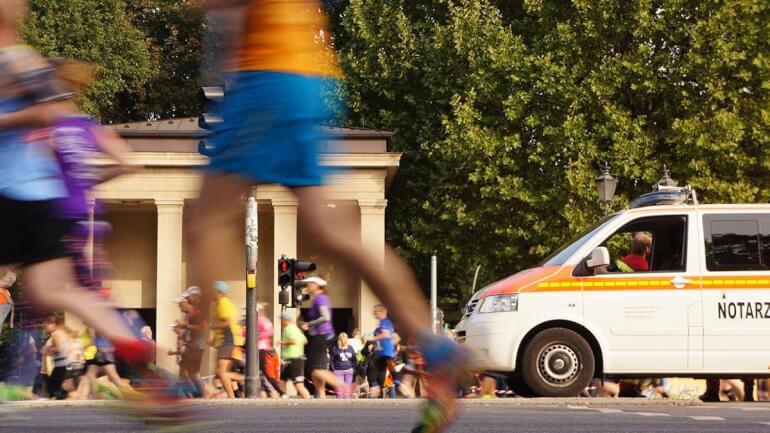 Berlin Marathon 2016 Notarzt