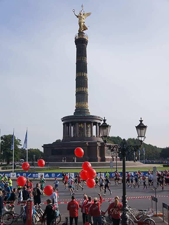 Berlin Marathon 2016 Siegessäule