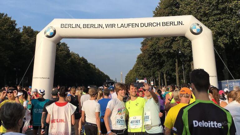 Berlin Marathon 2016 Wir laufen durch Berlin