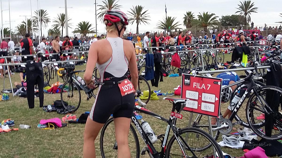 Barcelona Triathlon 2016 Fahrrad