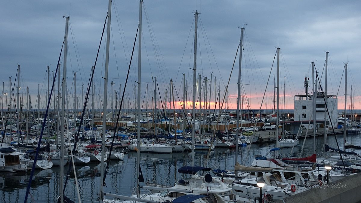 Barcelona Triathlon 2016 Hafen Port Olympic
