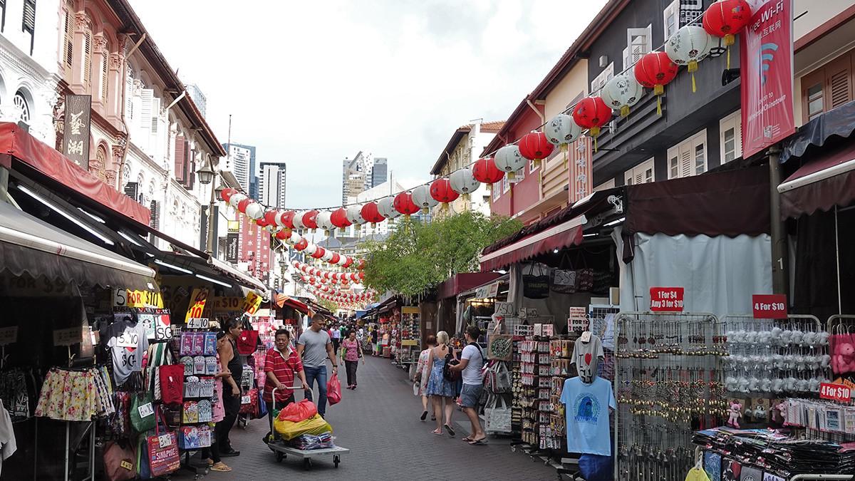 Singapur Reise Chinatown
