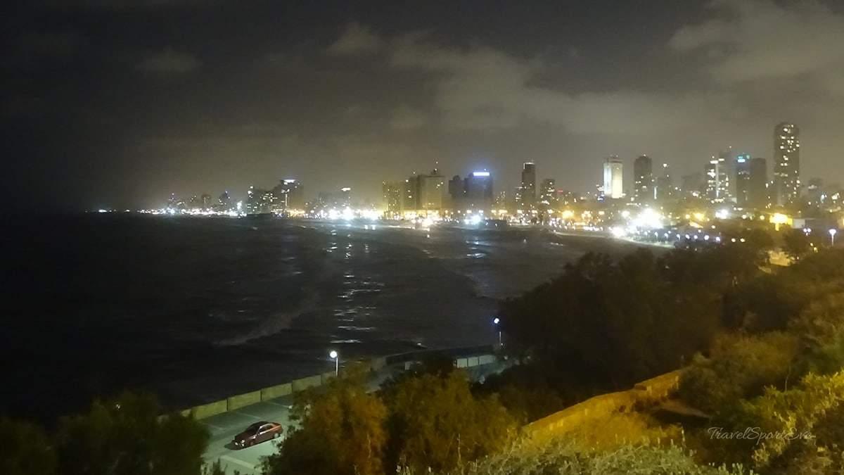 Tel Aviv Marina Nacht