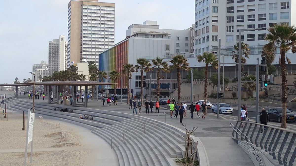 Tel Aviv Marina Promenade