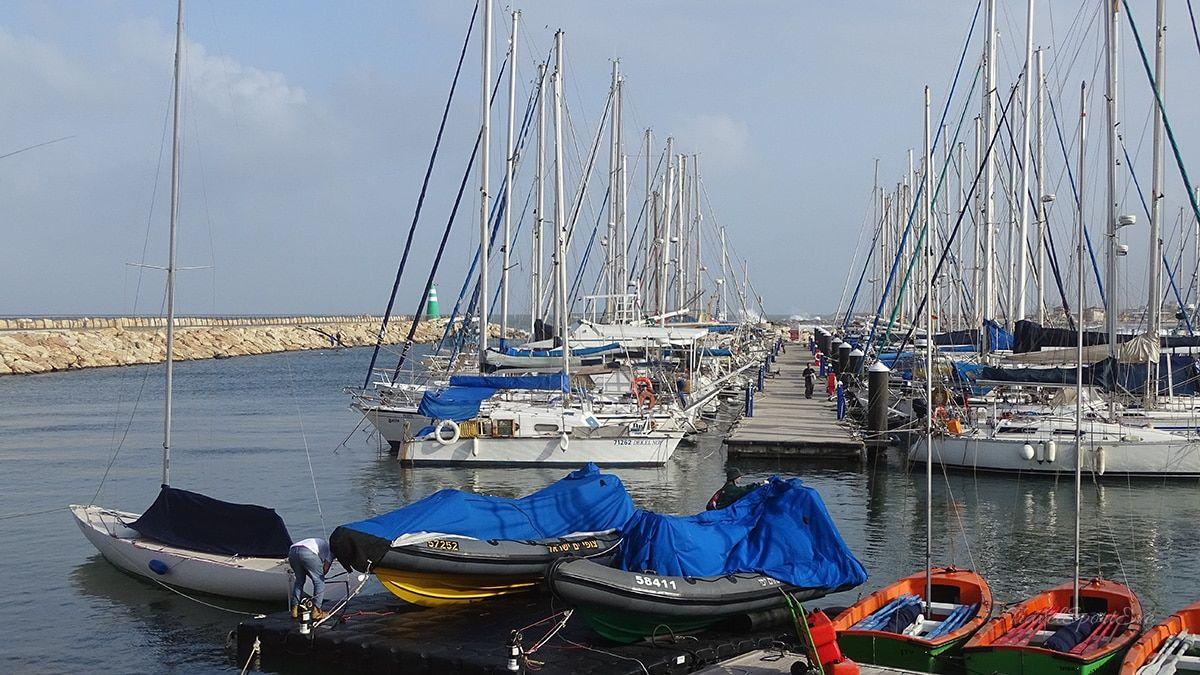 Tel Aviv Marina Schiffe
