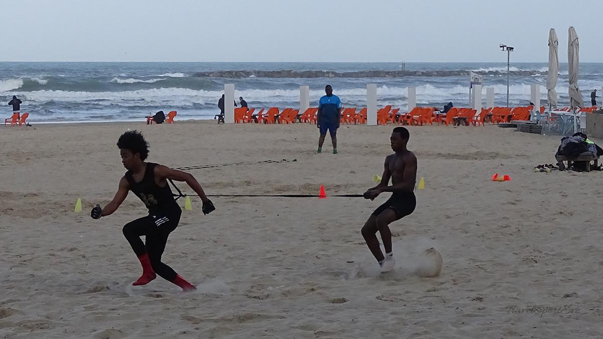 Tel Aviv Marina Sport Strand