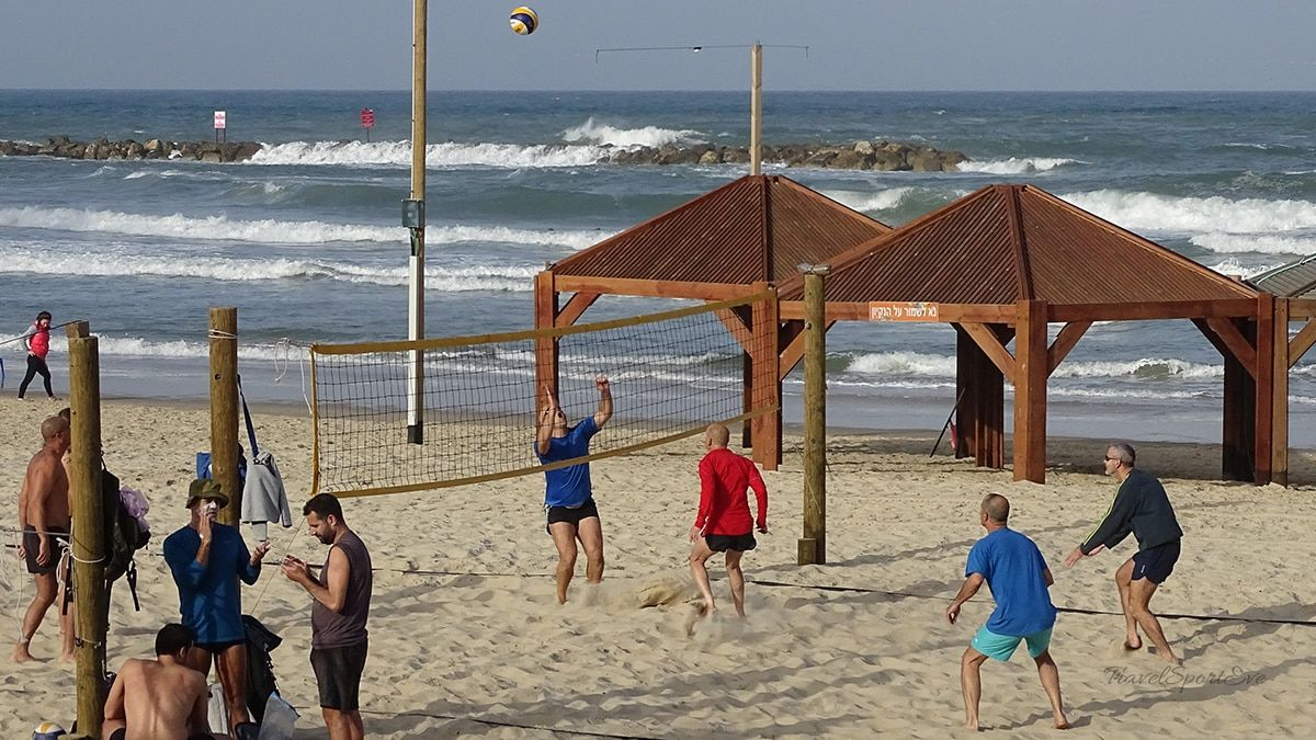 Tel Aviv Marina Volleyball
