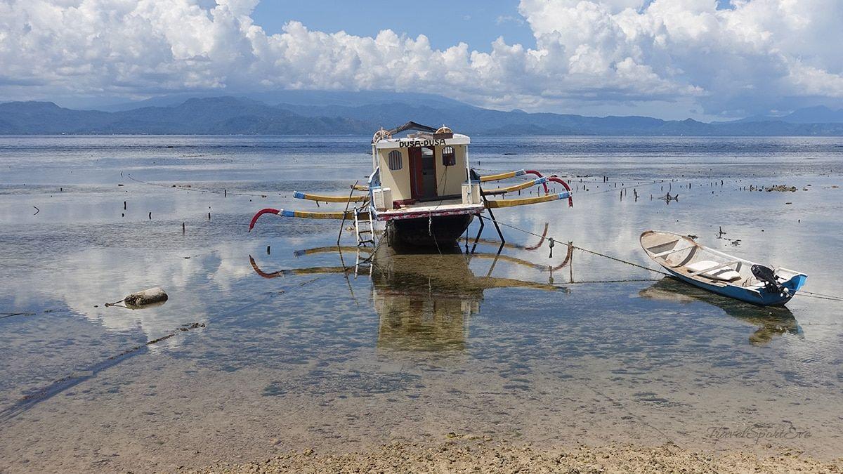 Nusa Lembongan Boot Warung Bambu