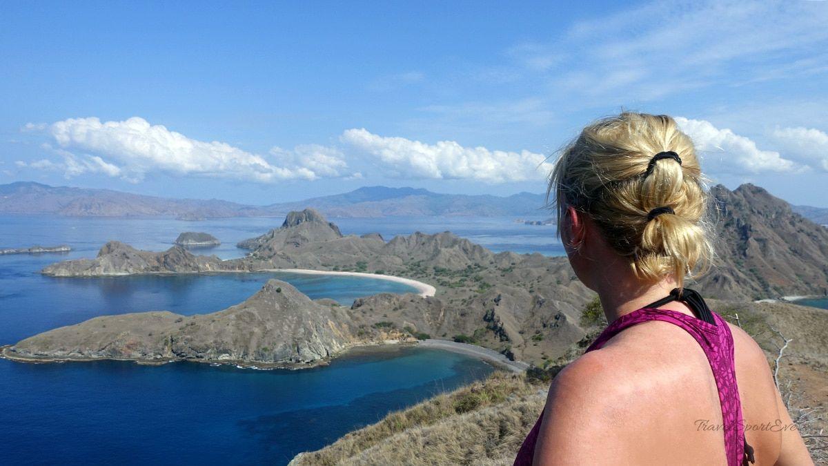 Labuan Bajo Flores Indonesien Padar Island