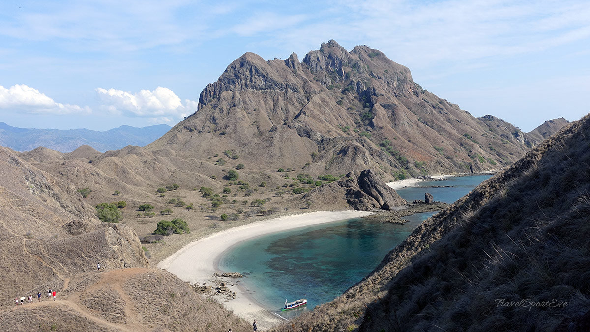 Komodo Island Indonesien Padar Isand Aussicht