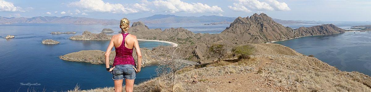 Komodo Island Indonesien Padar Island Panorama Aussicht