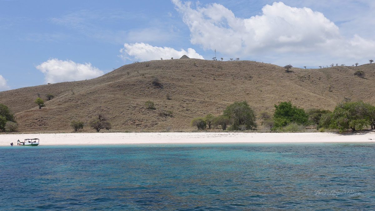 Komodo Island Indonesien Pink Beach
