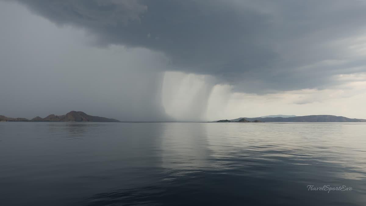 Komodo Island Indonesien Regenzeit