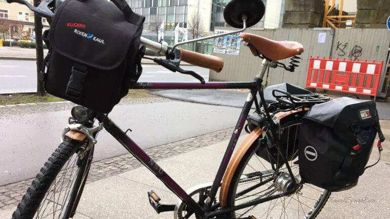Urlaub mit dem Fahrrad Lenkertaschen