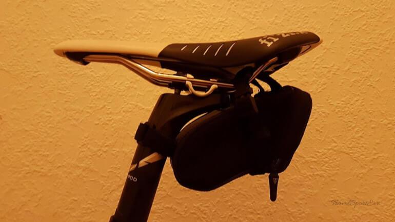 Urlaub mit den Fahrrad Satteltasche