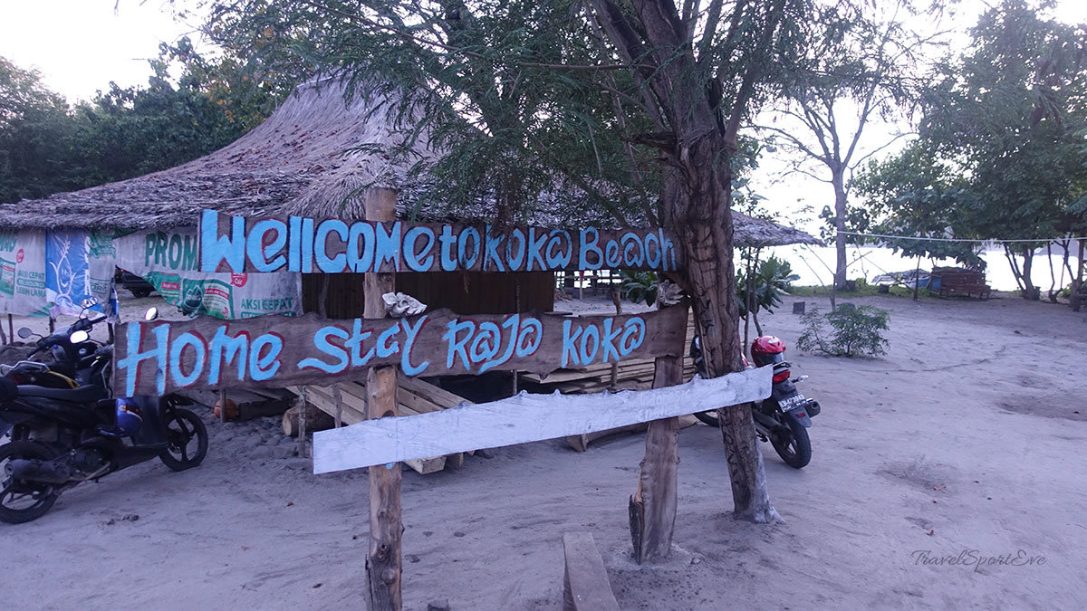 Koka Beach Flores Indonesien Homestay