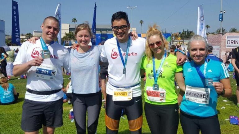 Tel Aviv Marathon 2017 Teilnehmer