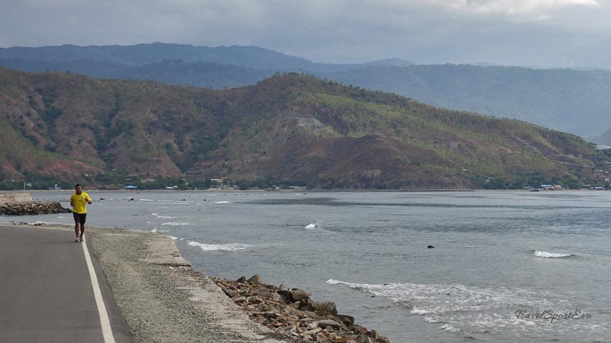 Laufen in Osttimor