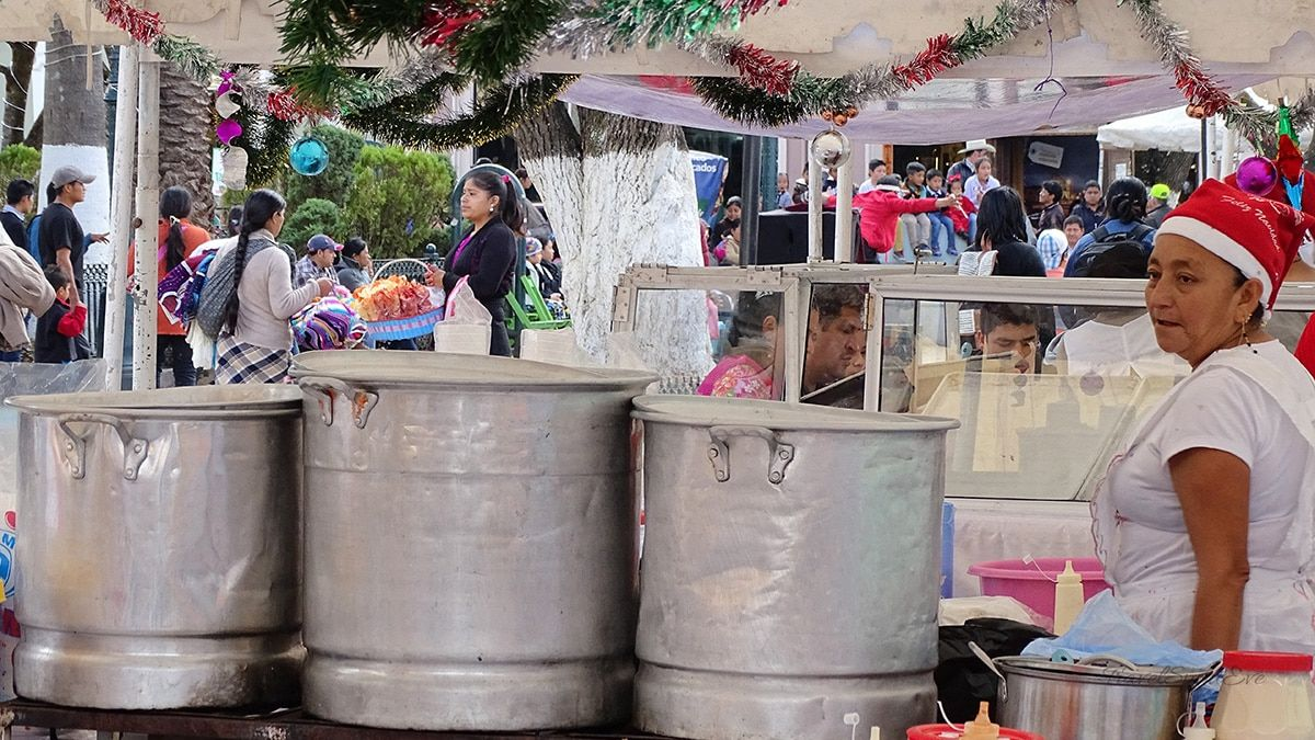 San Cristóbal de las Casas Marktplatz