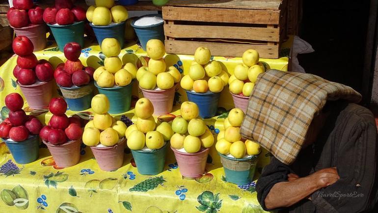 San Cristóbal de las Casas Markt Äpfel